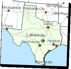 Lakeway map texas