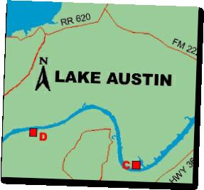 lake austin map