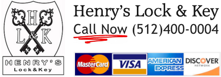 Henry's lock and key Logo