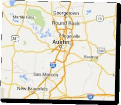 south austin texas map