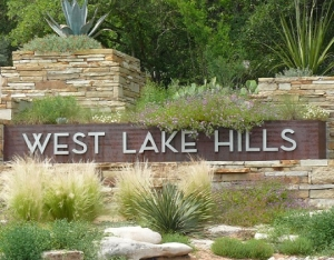 westlake hills sign