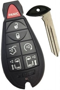 chrysler fobik key and a remote with it.
